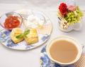 料理メニュー写真手作りスコーンのクリームティーセット(昼限定)