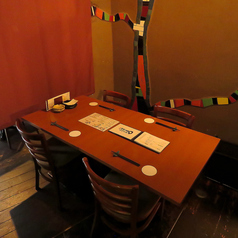 使い勝手いろいろテーブル席