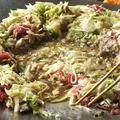 料理メニュー写真【2】土手を崩して中央のくぼみで炊き上げます。