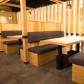洗練された空間でゆっくりとお食事をお楽しみください。