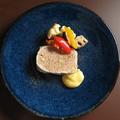 料理メニュー写真パテ・ド・カンパーニュ 県産野菜のマリネ
