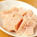 料理メニュー写真上ミノ(第一胃袋)