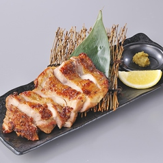 料理メニュー写真低温熟成鶏の炙り
