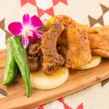 料理メニュー写真BBQ盛合せ (牛・豚・鶏・ソーセージ・野菜)