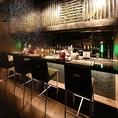 数々の飲食店を手掛けた有名デザイナーによるお洒落な隠れ家です。普段使いにも最適な綺麗なカジュアル空間。