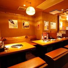 黒毛和牛焼肉 和家 NAGOMIYA 上野店の雰囲気1