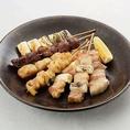 当店では鶏、豚、牛串がお手軽なお値段で食べられます!
