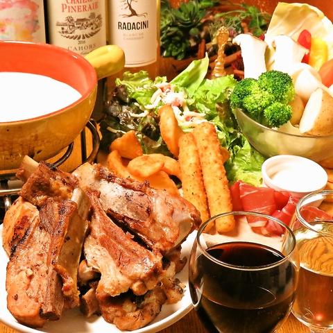 渋谷駅3分!本格イタリアン肉バル☆サプライズが超凄い!誕生日会★歓送迎会★合コン
