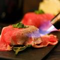 料理メニュー写真【贅沢!】トロける炙り肉寿司