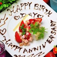 【誕生日のお祝いに・・】メッセージプレート♪