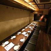 最大20名様まで対応の掘りごたつ個室。大宴会、大人数様に最適!幹事様も安心です。仙台の個室居酒屋で飲み放題のご宴会を。旬の食材をふんだんに使用した本格和食と、こだわりの種類豊富な日本酒を楽しむなら、是非当店へ。飲み放題付き宴会コース全8品 3,500円~