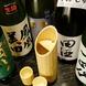 冷酒は竹のカラフェで