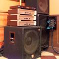 ― 音響のレベルが高い! 【DJブース/ライブ用PAシステム/珍しい楽器】 ―