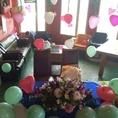バルーンで飾りつけ♪盛大なパーティ・誕生日にも◎