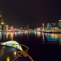1000万ドルの夜景を海から眺めるひと時