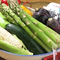 新鮮食材を使用。鮮度高い、旬の食材をご堪能ください