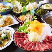 エイジング・ビーフを使用した熟成肉しゃぶしゃぶや熟成肉のすき焼きも絶品!