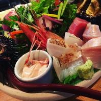 【渋谷から2分】漁場直送鮮魚のお造り盛合せ