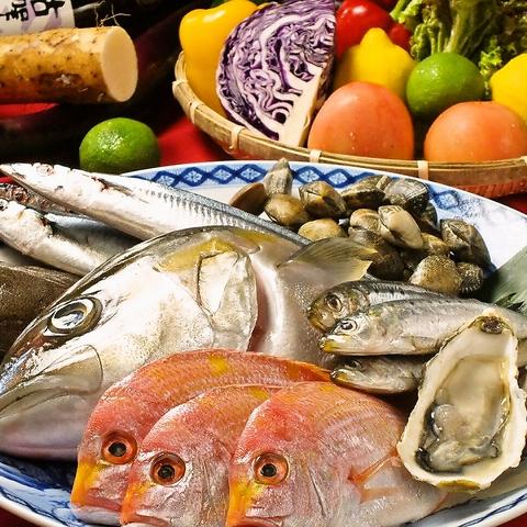 新鮮素材を使った料理を手ごろな価格で・・・小宴会から大宴会まで受け付けます!