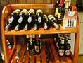 お酒の種類も豊富にご用意しております!!