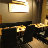 個室席は5から8名様までご収容可能!ご宴会などに大人気です!