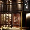 住吉通り沿い/博多の奥座敷/この外観が目印