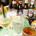 飲み放題プランもあります!インドビールなど、各種ドリンクを取り揃えています。