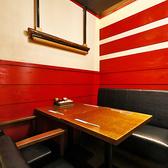 【2~6名様・テーブル半個室】少人数宴会に最適!気軽に使えるカジュアル宴会空間