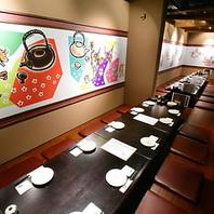 鶴屋町のおしゃれで雰囲気のいい個室で歓迎会・送別会。