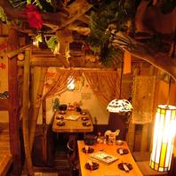 琉球式宴会♪居心地のいい南国の雰囲気!