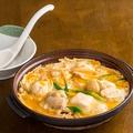 料理メニュー写真鶏柳川風鍋/鴨柳川風鍋