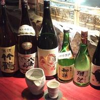 日本酒の種類が豊富♪