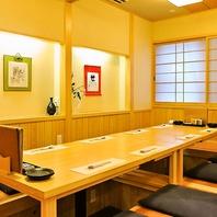 檜の完全個室は4名・8名~/接待・記念日・宴会にも最適