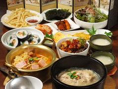 韓国家庭料理&茶 ソウルソウルの写真