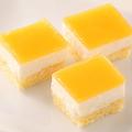 料理メニュー写真三ケ日みかんのレアチーズケーキ