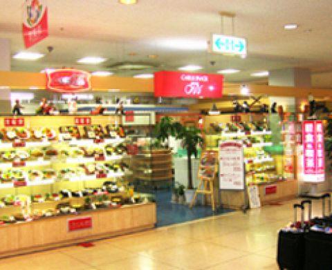 フジグラン安芸店1F。お食事から喫茶まで豊富なメニューを取り揃えております。