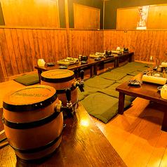 ゆったり寛ぐお座敷席【週末もok!】エビスビールの付いた、3時間飲み放題を1500円!!※クーポン利用時