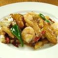中国の料理人より直伝。単品料理も種類豊富。