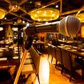 音響設備完備。宴会やパーティにおすすめ★音楽イベント等も有り。