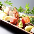 料理メニュー写真刺身盛り合わせ(5種)