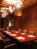 8名様収容の完全個室も完備。大切なお食事会に…