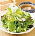 料理メニュー写真有機農法で育った健康和風サラダ