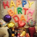 ☆個室デコレーション☆人気のVIP個室をデコレーション♪誕生日・記念日に是非ご利用ください!