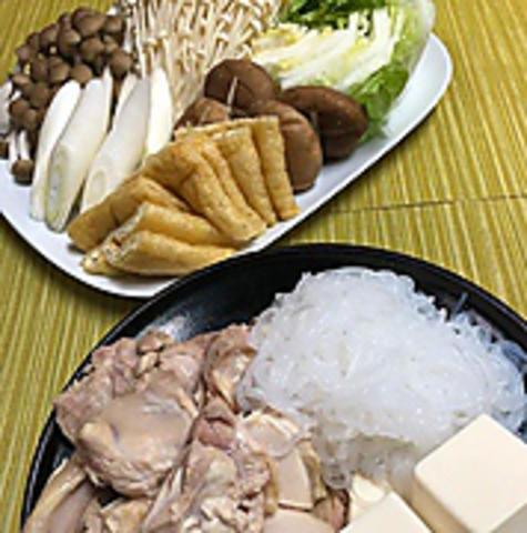 NOROCの鶏茸鍋【1日3食限定】