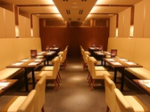 最大40名収容の半個室風空間をご用意。会社宴会など団体様に大好評です。