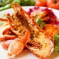 料理メニュー写真数量限定 活オマール海老のヴァポーレ 旬のお野菜と香草塩を添えて