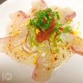料理メニュー写真真鯛カルパッチョ
