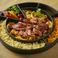 料理メニュー写真チーズタッカルビ(牛ハラミ)