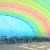 立川天空ビアガーデンの雰囲気2