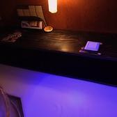 【大人気のカップルシート♪】洒落た「ワイン居酒屋」☆薄暗い灯りはムード満点でデートにも最適♪大切な日にお二人だけの時間をお過ごしください。予約必須です!!